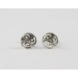 Ohrstecker Keltische Knoten (10), Silber