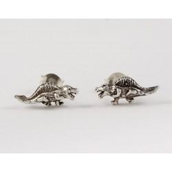 Ohrstecker Dinosaurier (2) Echt Silber
