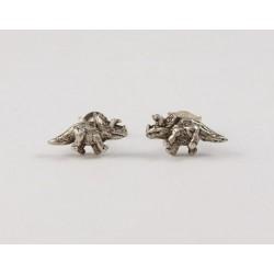 Ohrstecker Dinosaurier (4) Echt Silber