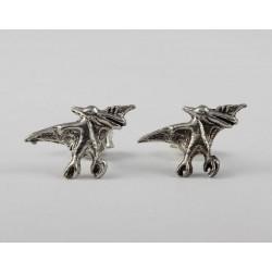 Ohrstecker Dinosaurier (5) Echt Silber