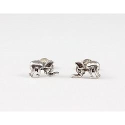 Ohrstecker Elefant (1) Echt Silber
