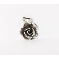 Kettenanhänger Rose Silber