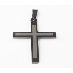 Kettenanhänger Kreuz (8) Edelstahl