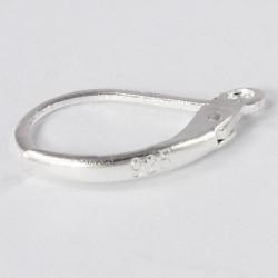 Klapp-Brisuren, Ohrhaken aus 925- Silber pl