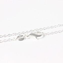 Silberkette (925-Silber) 46 cm/1 mm