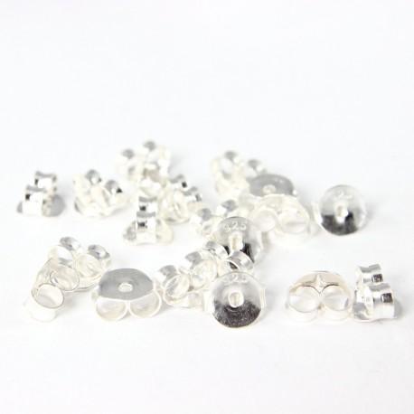 Ohrstecker-Verschluss -Ohrmutter Echt Silber