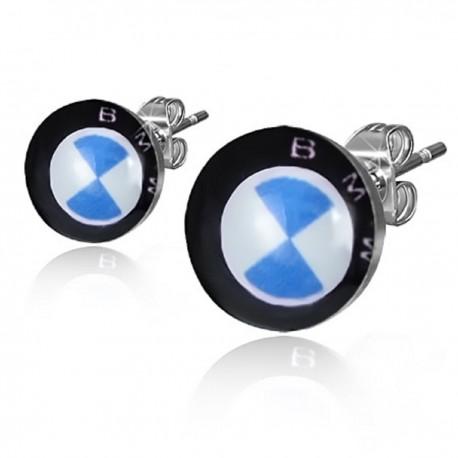 Ohrstecker BMW-Symbol Edelstahl