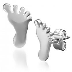 Ohrstecker Fuß Edelstahl