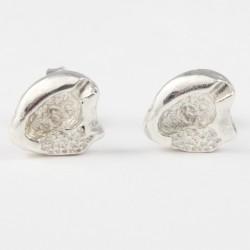 Ohrstecker Aschenbecher Echt Silber