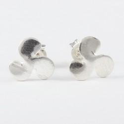 Ohrstecker Schiffsschraube Echt Silber