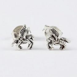 Ohrstecker Pegasus klein Echt Silber