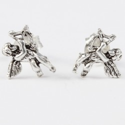 Ohrstecker Engel (5) Echt  Silber