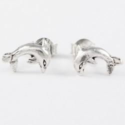 Ohrstecker Delphin (5) Silber
