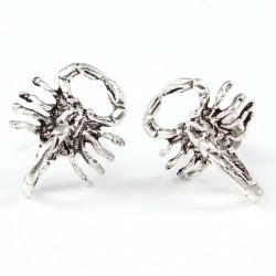 Ohrstecker Skorpion  gross Echt Silber