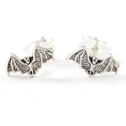 Ohrstecker Fledermaus Echt Silber