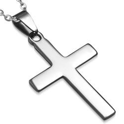 Kettenanhänger Kreuz Edelstahl