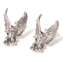 Ohrstecker Adler groß massiv aus Echt Silber
