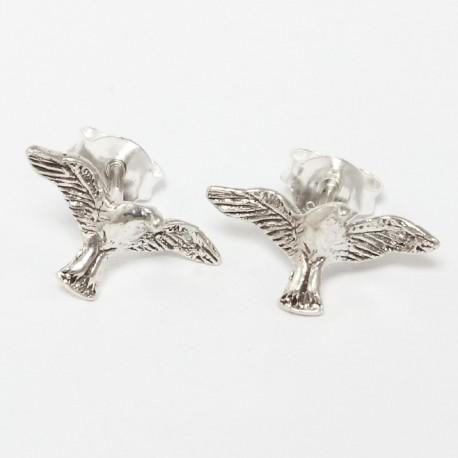 Silber Ohrstecker Adler