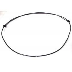 Lederkette/Lederband verstellbar mit 2 Knoten